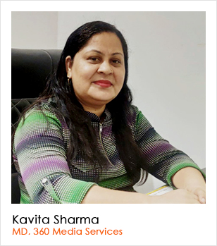 Kavita Sharma (MD, 360 Media Services)